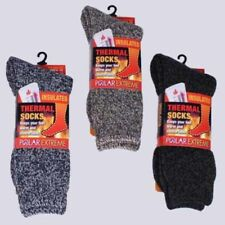 Polar Extreme Insulated Thermal Socks Mens Multi-color Marl Warm Sock Size 10-13