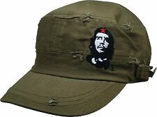 Che Guevara Red Star Distressed Baseball Hat