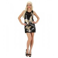 Ladies Sequin Dress Butterflies Costume for Insects Bugs Fancy Dress
