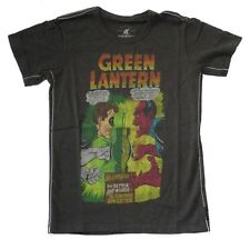DC Comics Trunk LTD Green Lantern vs Sinestro Grey Kids Youth T Shirt NEW