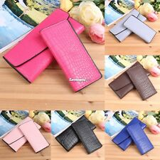 New Fashion Women Alligator Print Wallet and Card Holder Set ES9P