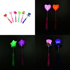 LED Magic Star Wand Flashing Lights up Glow Sticks Party Concert Xmas Halloween1
