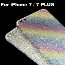 Bling Glitter Crystal Diamond Full Body Wrap Decal Film Sticker For iPhone 7Plus