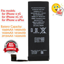 1560mAh Li-ion Battery Replacement Part with Flex Cable for iPhone 5S/5C/6plus F