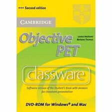 Objective PET Classware DVD-ROM with answers (DVD-ROM) Louise Hashemi , Barbara