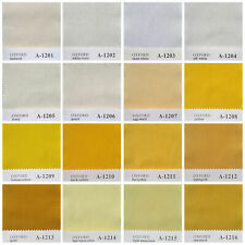 """133 COLOR SOLID COTTON 134 THREAD 20s OXFORD FABRIC COVERING CURTAIN BEDDING 44"""""""