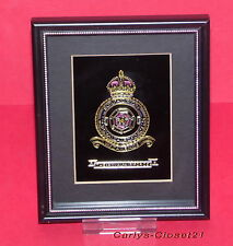 THE ROYAL AIR FORCE * 625 Squadron * Framed Picture / Crest * Military *