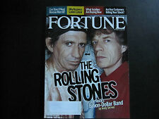 Fortune Magazine - Sept. 30, 2002 - Rolling Stones Mick Jagger / Keith Richards