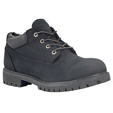 Timberland Black Leather Boots Mens Sizes Waterproof Oxford Shoes 73537