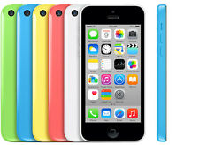 Factory Unlocked Apple iPhone 5C 3G 4G LTE GSM Smartphone Cellphone 16GB CAON