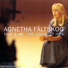 AGNETHA FALTSKOG (NEW SEALED CD) THAT'S ME / GREATEST HITS VERY BEST OF (ABBA)