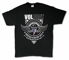 "VOLBEAT ""U.S.A. 2014"" BLACK BAND MUSIC T-SHIRT NEW OFFICIAL ADULT"