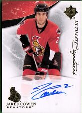 2010-11 Ultimate Collection Signatures #USJC Jared Cowen HARD SIGNED AUTO
