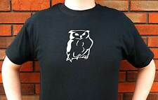 OWL OWLS RAPTOR WISE GRAPHIC T-SHIRT TEE FUNNY CUTE