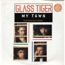 "GLASS TIGER FEATURING ROD STEWART My Town 12"" 3 Track B/w Tragedy Of Love And Do"