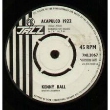 "KENNY BALL AND HIS JAZZ MEN Acapulco 1922 7"" B/w Hand Me Down My Walking Shoes ("