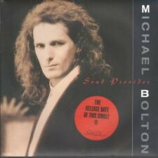 """MICHAEL BOLTON Soul Provider 7"""" B/w The Hunger (6549467) Release Date Sticker On"""