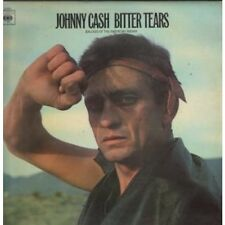 JOHNNY CASH Bitter Tears LP 8 Track Stereo Pressing Orange Label Issue Matrix A2