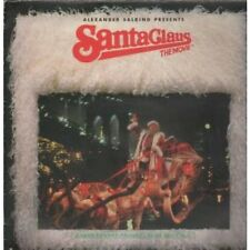 SANTA CLAUS THE MOVIE Original Soundtrack LP 7 Track Some Writing On The Rear Of