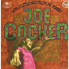 JOE COCKER With A Little Help From My Friends LP 12 Track Textured Sleeve Has Sm