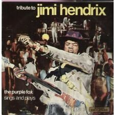 PURPLE FOX Tribute To Jimi Hendrix LP 12 Track (mer340) UK Stereo Gold Award 197