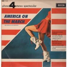 BOB SHARPLES AND HIS ORCHESTRA America On The March LP 10 Track Phase 4 Stereo (