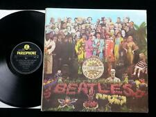 BEATLES Sgt.Peppers Lonely Hearts Club Band LP UK 1st MONO PMC 7027 'Wide Spine'