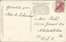 Germany OFFICE IN TURKISH EMPIRE Sc#56(single frank) JERUSALEM PALESTINE 13/3/10