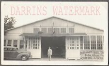 Vintage Car Photo Man w/ 1939 Plymouth at Mill Woodworking Shop 714954