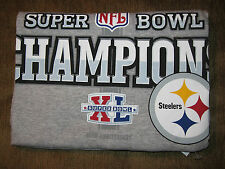 YOUTH OR MENS  Pittsburgh Steelers Super Bowl Xl Champions T-shirt 2006 OFFICIAL