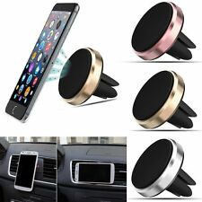 Universal Magnetic Car Air Vent Holder Stand Mount For Samsung Cell Phone GPS IA