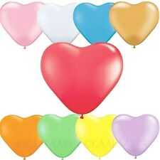 Anniversary Valentines Supply Wedding Heart Shape Party Balloons Bulk 12 inch