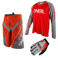 Oneal Freeride Element Blocker Mountain bike DH Combo Downhill MTB red