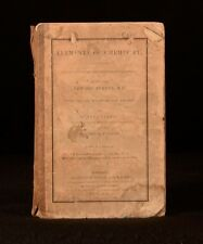 1837 Elements of Chemistry by the Late Edward Turner Part II Only of II