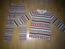 GYMBOREE MOUNTAIN CABIN 2 PIECE LITTLE GIRLS OUTFIT SIZE 4