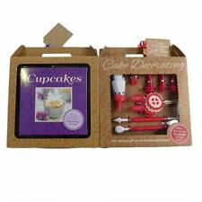 HINKLER CUPCAKES OR CAKE DECORATING GIFT SETS GIFT BOXED WITH TAG