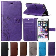 Retro Flip Leather Wallet Card Slot Stand Case Cover For iPhone5 5s SE 6&6s/Plus