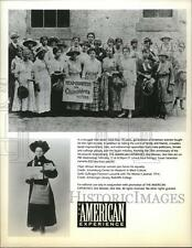 1995 Press Photo African American women join forces for equality  - spx07663