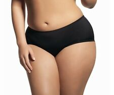 ELOMI SMOOTHING SHORT/BRIEF BLACK SIZE 2L/18 HIGH WAIST 1226 KNICKERS NEW