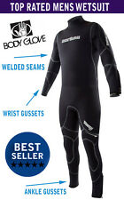 Men's Scuba Diving Full Wetsuit 7mm Body Glove Triton SEMI DRY - Top of the Line