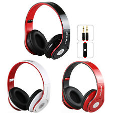 3.5mm Adjustable Stereo Headphone Headset Earphone With Mic For iPhone Universal