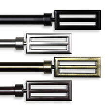 """Curtain Rod 3/4"""" OD #73 choose from 4 colors & 4 sizes 28""""-170"""""""