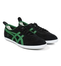 MENS ASICS ONITSUKA TIGER MEXICO 66 BLACK/GREEN SUEDE - SIZES 6 TO 10.5 UK