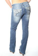 MISS ME WOMEN'S RELAXED BOOT CUT JEANS 25-30