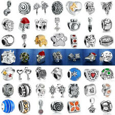 New Fashion Silver Charm European Beads Fit sterling 925 Necklace Bracelet Chain