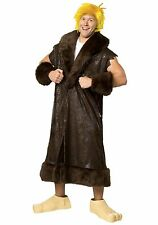 BRAND NEW Licensed Flintstones DELUXE ADULT BARNEY RUBBLE COSTUME Size STD, XL