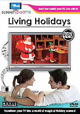 Living Holidays (BRAND NEW DVD) virtual 14 scenescapes+ Halloween/Christmas/etc.