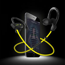 Wireless Bluetooth Headset Sport Stereo Headphone Earphone For iPhone Samsung HS