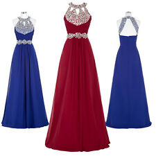 Women Long Maxi Dresses Formal Prom Cocktail Party Evening Gown Bridesmaid Dress