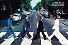 """The Beatles POSTER """"ALSO AVAILABLE FRAMED & LAMINATED"""" Abbey Road"""